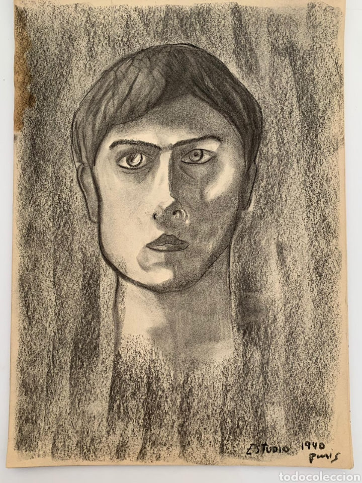 RETRATO PARISINO SIGLO XX (Arte - Dibujos - Contemporáneos siglo XX)