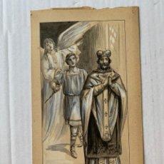 Arte: J. CAMINS, JOSEP CAMINS REBULL - SAN NORBERTO. Lote 177310592