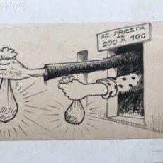"Arte: DIBUJO A TINTA DE PICAROL "" JOSEP COSTA FERRER "". CON CERTIFICADO.. Lote 177772315"
