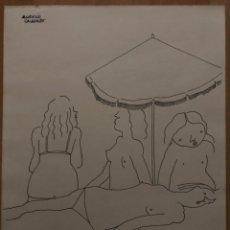 Arte: AURELIO CALDERÓN. Lote 178027775