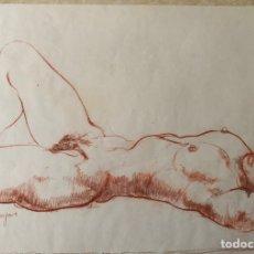 Arte: ANDRÉS BARAJAS-DIBUJO EROTICO. Lote 178099540