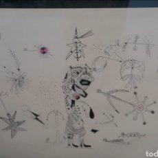 Arte: DIBUJO ORIGINAL. Lote 178345443