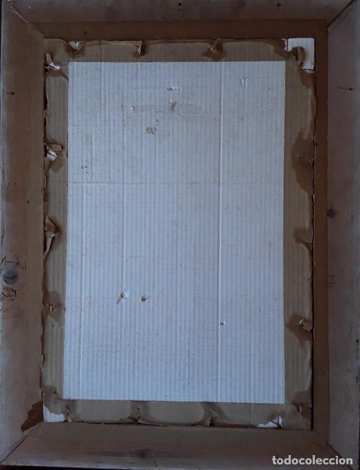 Arte: TÉCNICA MIXTA SOBRE PAPEL. FIRMADA ILEGIBLE - Foto 4 - 178571982