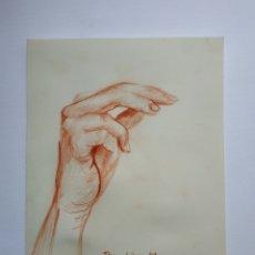 Arte: DIBUJO ORIGINAL, MANO. FIRMADO.. Lote 178635816
