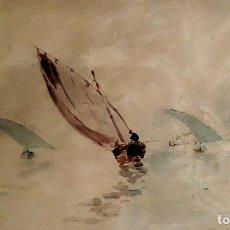 Arte: LARRAGA MONTANER, ANDRES ( 1862 -1931 ) PINTOR //DE VALTIERRA, ( NAVARRA ). Lote 178657151