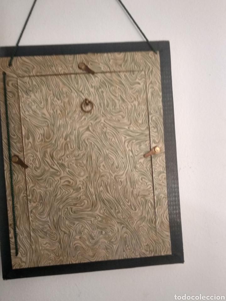 Arte: Dibujo romántico, regalo el marco, el dibujo, paspartú y marco todo es antiguo - Foto 3 - 178681438