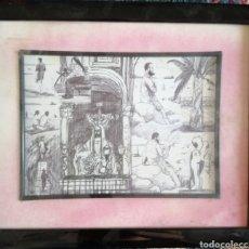 Arte: PACO MELENDEZ. DIBUJO.. Lote 178880397
