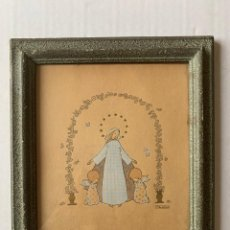 Arte: MERCÉ LLIMONA - PRECIOSO DIBUJO ORIGINAL FIRMADO. Lote 178893985