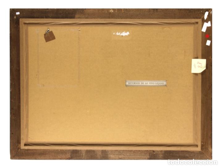Arte: ANTONI TÀPIES Original 1979 ACRÍLICO, ACUARELA Y LÁPIZ CERTIFICADO DE AUTENTICIDAD COMISIÓN TAPIES - Foto 5 - 178906457