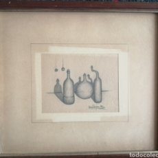 Arte: HANS PAYAN. DIBUJO 1982. FIRMADO. Lote 178922315