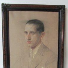 Arte: SANTIAGO FARRIOLS GONZALEZ (BARCELONA 1890 - 1974) RETRATO - DIBUJO - FIRMA Y DATA AÑO 1929. Lote 178935511