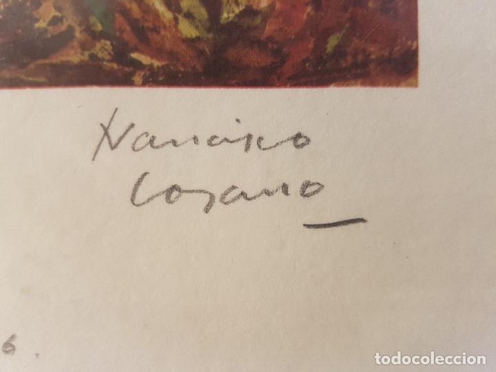 Arte: FRANCISCO LOZANO (ANTELLA 1912-VALENCIA 2000) DIBUIJO A LÁPIZ DE BARCAS .LITOGRAFÍA 30 x 41. 131/300 - Foto 4 - 179094097