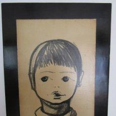 Art: DIBUJO A LÁPIZ - FIRMA O. KURZ - AÑO 59. Lote 179158051