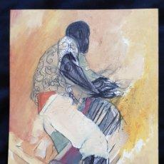 Arte: MIXTA SOBRE CARTULINA DEL ARTISTA MEJICANO JOSE LUIS PESCADOR MEJICO MEXICO MEXICANO MIDE 30X22,5 CM. Lote 179253932