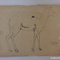 Arte: 3 CELSO LAGAR . 3 DIBUJOS SOBRE PAPEL LÁPIZ Y TINTA . PARIS . CIUDAD RODRIGO .. Lote 179561027