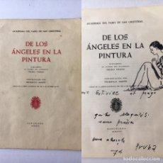 Arte: PERE PRUNA - DIBUJO ORIGINAL, DEDICATORIA Y FIRMA MANUSCRITA EN LIBRO. Lote 180015715