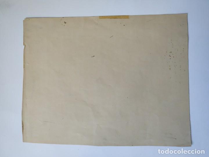 Arte: DIBUJO A LAPIZ REPRESENTANDO A ADOLPHE MAX POLITICO BELGA 19,5 X 15 CM - Foto 4 - 180108440