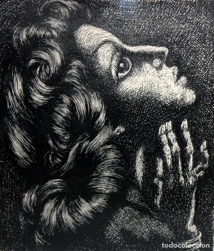 Arte: ALEJANDRO SIRIO (Oviedo, 1890 - Buenos Aires, 1953) CONJUNTO DE 3 DIBUJOS A TINTA ORIGINALES - Foto 9 - 180110436