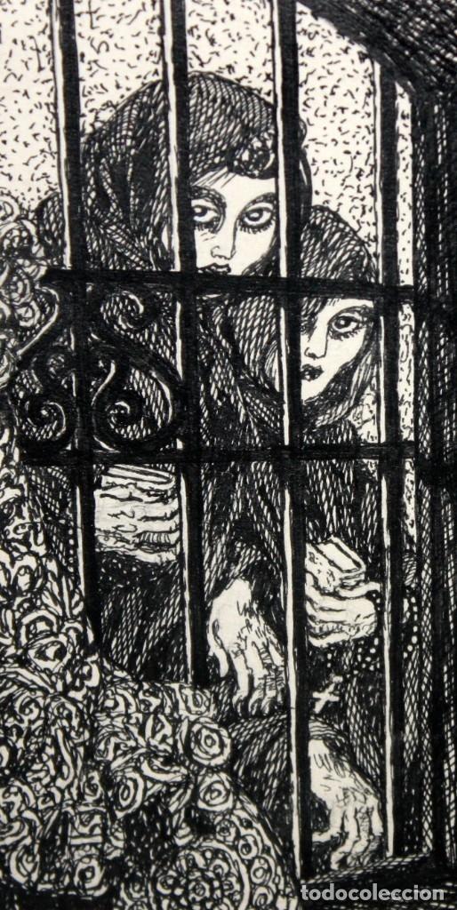 Arte: ALEJANDRO SIRIO (Oviedo, 1890 - Buenos Aires, 1953) CONJUNTO DE 3 DIBUJOS A TINTA ORIGINALES - Foto 15 - 180110436