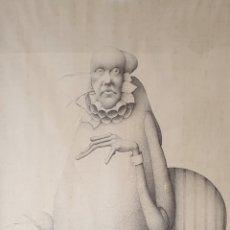Arte: JUAN F. BEJAR (MÁLAGA 1946), MAGNIFICO DIBUJO A LÁPIZ, FIRMADO, 1982.. Lote 180454518