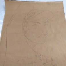 Arte: DIBUJO DEL PINTOR VALENCIANO GENARO LAHUERTA EN SIDI IFNI AÑO 1953. Lote 55043586