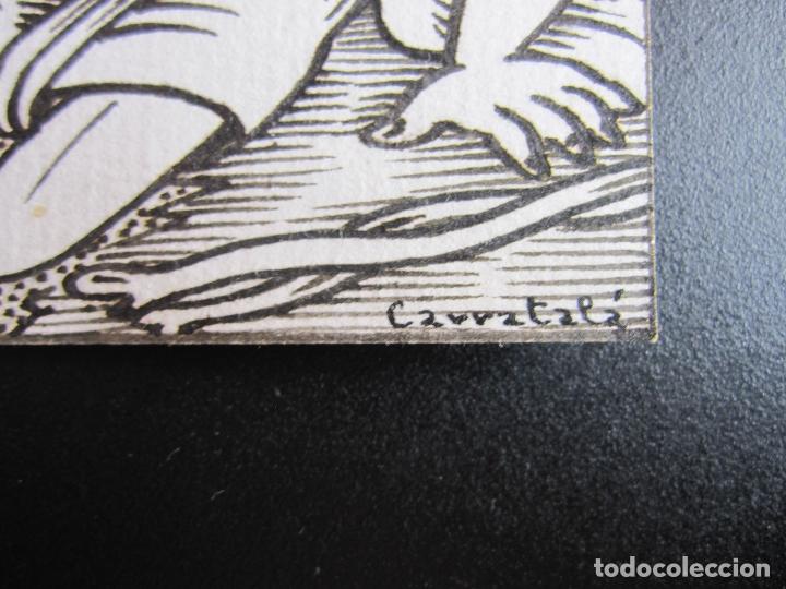 Arte: ERNESTO CARRATALÁ. DIBUJANTE VIBORA. VIÑETA ORIGINAL A TINTA. 9,5 X 9 CM. FIRMADA - Foto 2 - 181194220