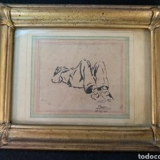 Arte: DIBUJO ORIGINAL FIRMA ROURE, 1944. Lote 181327105