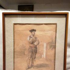 Arte: DIBUJO DE J. D. BECQUER FECHADO 67 EN SEVILLA. Lote 181436743