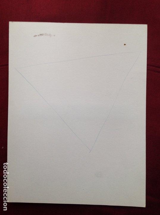 Arte: Joaquim Pujol Grau (Barcelona 1938 ). Técnica Mixta/papel. 345 x 265 cmtrs. - Foto 2 - 181738295