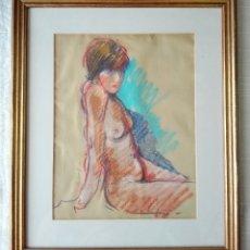 Arte: RAMON LOMBARTE 1978 - DESNUDO FEMENINO. Lote 181766146