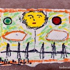 Art: JULIO DE PABLO (1917-2009),TÉCNICA MIXTA SOBRE PAPEL VEGETAL, 15,5X10,5 CM. Lote 181789060