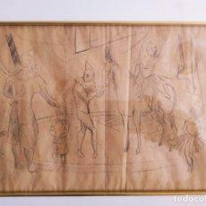 Arte: DIBUJO PRINCIPIO DE SIGLO.XX. Lote 181892708
