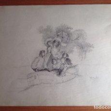 Arte: MANUEL PICOLO. ESCENA.. Lote 181931848