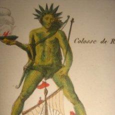 Arte: ESPLÉNDIDO GRABADO MONUMENTOS DE LA ANTIGUEDAD, ORIGINAL, PARIS, 1822, TARDIEU,. Lote 182621842