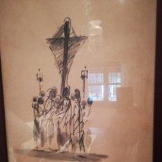 Arte: DIBUJO ORIGINAL COLL BARDOLET. Lote 182760336