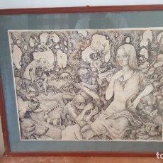 Arte: SURREALISMO DE RAMON BANUS. Lote 182760853