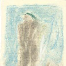 Arte: REQUEJO. DIBUJO A CERAS ABSTRACCIÓN XV. PAPEL INGRES FABIANO. 18X15 CM. FIRMADO A MANO. 1984. . Lote 182762345