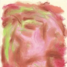 Arte: REQUEJO. DIBUJO A CERAS ABSTRACCIÓN XIX. PAPEL INGRES FABIANO. 18X15 CM. FIRMADO A MANO. 1984. . Lote 182762491