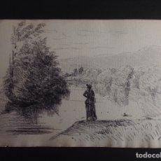 Arte: TOMÁS CAMPUZANO. PAISAJE.. Lote 182774925