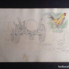 Arte: ANDRÉS LARRAGA. APUNTES.. Lote 182775430