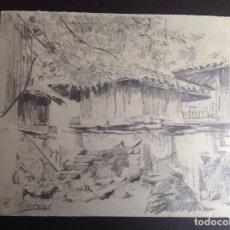 Arte: TELESFORO CUEVAS. EL HORREO.. Lote 182776176