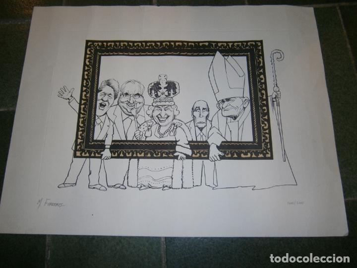LITOGRAFIA DE M.FERRERES DE 2000\1400 (Arte - Dibujos - Contemporáneos siglo XX)