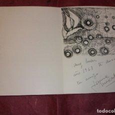 Arte: DIBUJO ORIGINAL DE JAUME MUXART CON FELICITACION NAVIDEÑA PARA 1963 MARTORELL BARCELONA. Lote 183086957