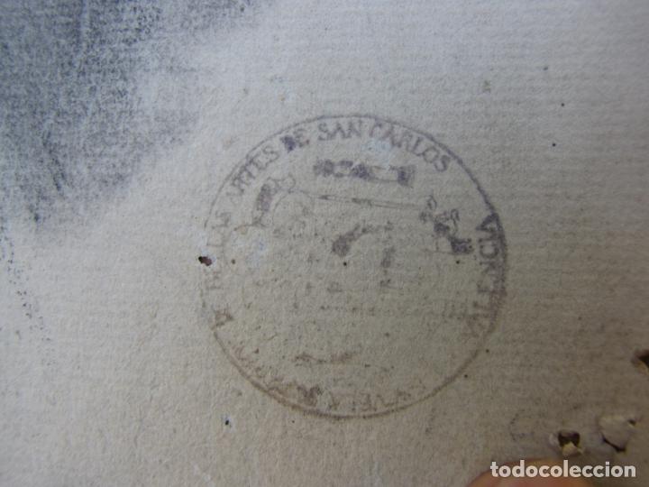 Arte: Dos carboncillos de Ferran Morell. Fundador Equipo Hoz. Años 50 - Foto 10 - 183092255