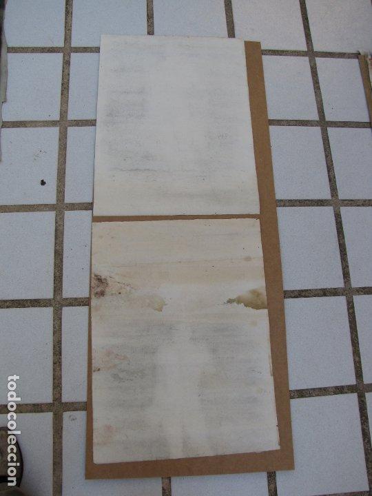 Arte: Dos carboncillos de Ferran Morell. Fundador Equipo Hoz. Años 50 - Foto 6 - 183092415