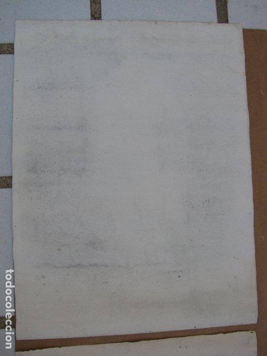Arte: Dos carboncillos de Ferran Morell. Fundador Equipo Hoz. Años 50 - Foto 7 - 183092415