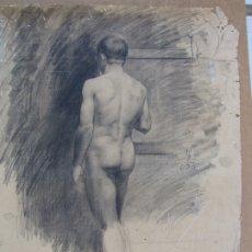 Arte: CARBONCILLO DE JUSTO ALMELA COMPANY. 1.899 ANVERSO. REVERSO CARBONCILLO FERRAN MORELL 1950. Lote 183096401