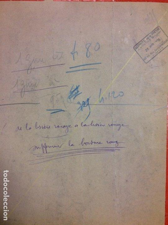 Arte: AÑO 1926 - DIBUJO ORIGINAL DE MANUEL FONTANALS FIRMADO - CARBONCILLO SOBRE CARTÓN - ESCENOGRAFÍA - Foto 3 - 183260077