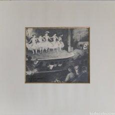 Arte: DIBUJO A LAPIZ CAFÉ CONCERT DE RICARD CANALS SELLO LA PINACOTECA BARCELONA. Lote 183267295
