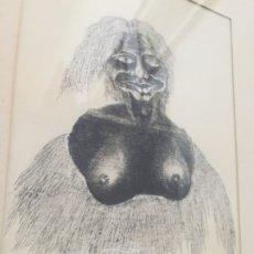 Arte: MINIATURA PLUMILLA DE JOAQUÍN PICAZO. Lote 183284991